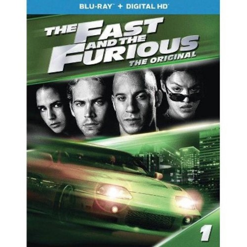 The Fast and the Furious (Blu-ray + Digital HD)