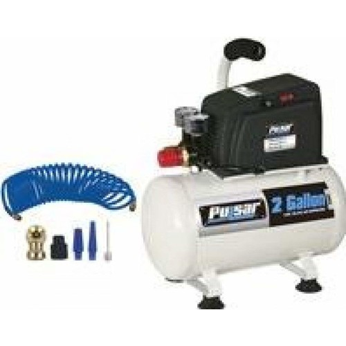 Pulsar Products 2 Gallon Air Compressor with Accessories PCE6020K