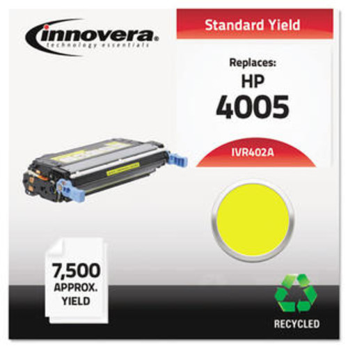 Innovera Remanufactured CB402A (642A) Toner, Yellow Remanufactured CB402A (642A) Toner, Yellow