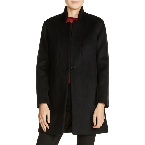 MAJE Galion Single-Button Seamed Coat