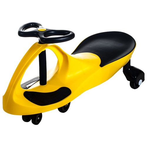 Trademark Lil' Rider Wiggle Ride-on Car, Yellow