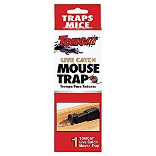 Tomcat Live Catch Mouse Trap [Single-Mouse Size]
