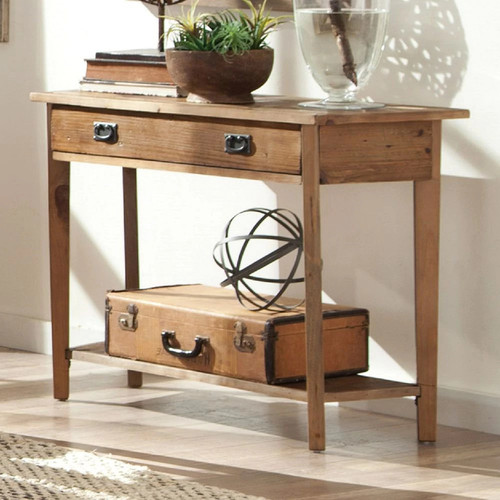 Alaterre Revive Reclaimed Console, Natural