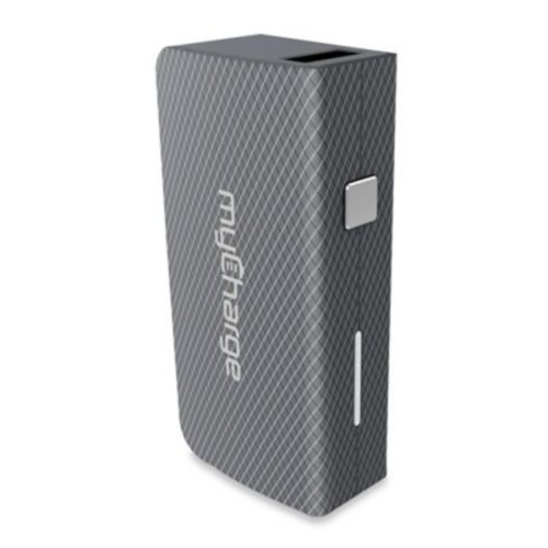 myCharge AmpPlus 3000 mAh Portable USB Charger in Grey