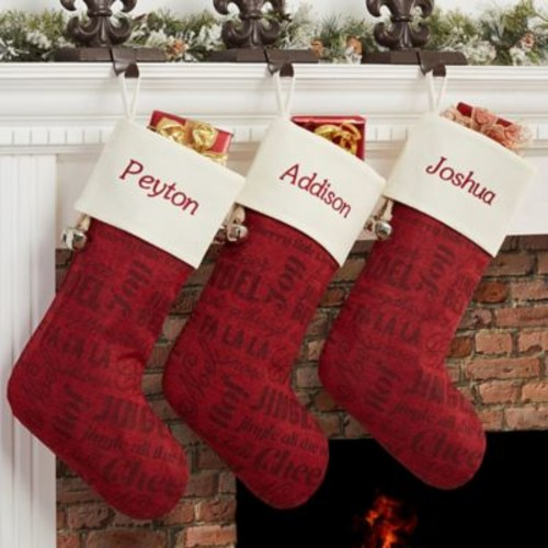 Winter Melody Christmas Stocking