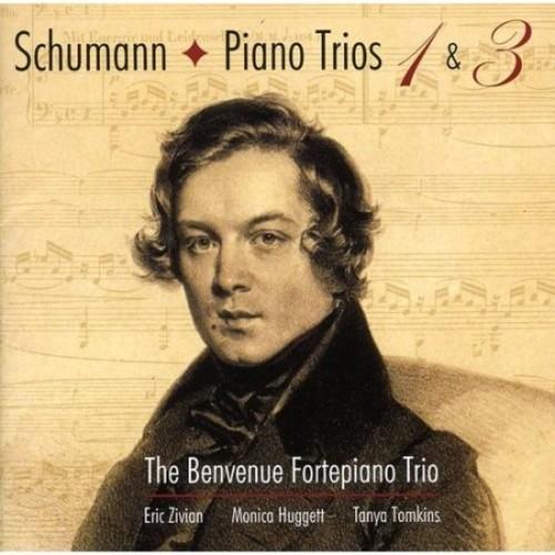 Schumann: Piano Trios Nos. 1 & 3 [CD]