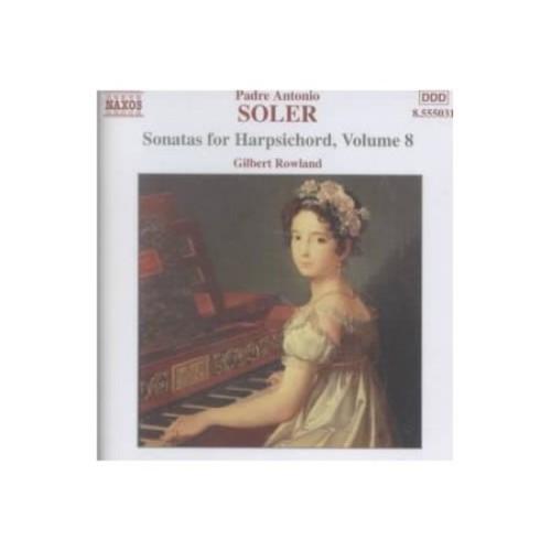 Soler: sonatas For Harpsichord Vol. 8 CD (2002)