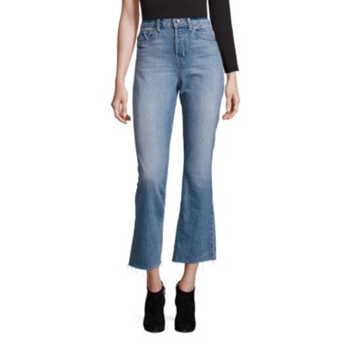 HELMUT LANG High Rise Cropped Jeans