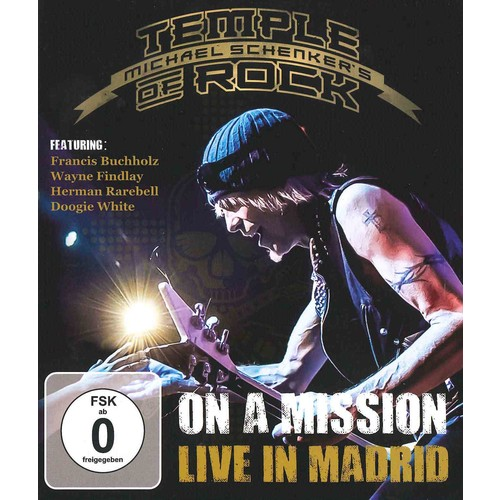 On a Mission: Live in Madrid (Blu-ray Disc)