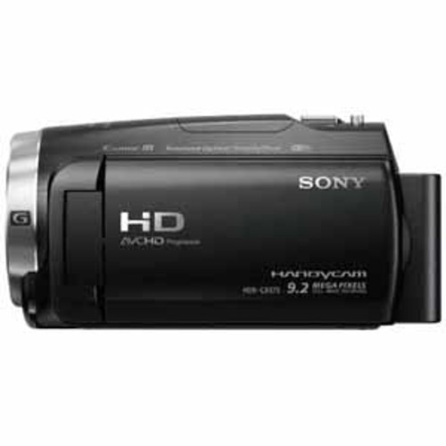 Sony Handycam 32GB Flash Memory Camcorde with Exmor R CMOS sensor - Black