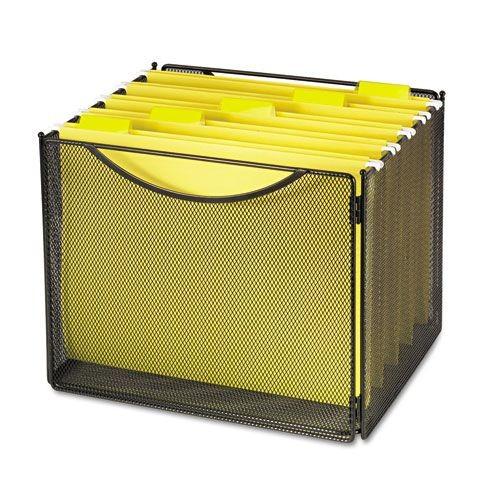 Safco SAF2170BL Onyx Desktop Box Files