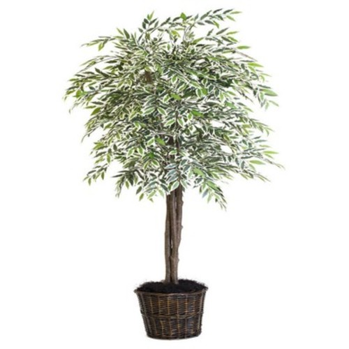 Artificial Variegated Smilax Deluxe (6.5ft) Green - Vickerman