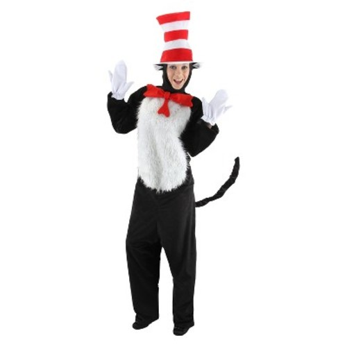 Adult Dr. Seuss Cat in the Hat Deluxe Costume L/XL