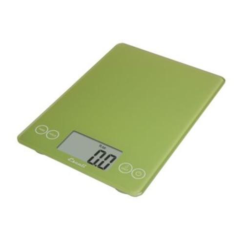 Escali 157LG Arti Glass Digital Kitchen Scale 15Lb/7Kg, Key Lime Green [Key Lime Green]