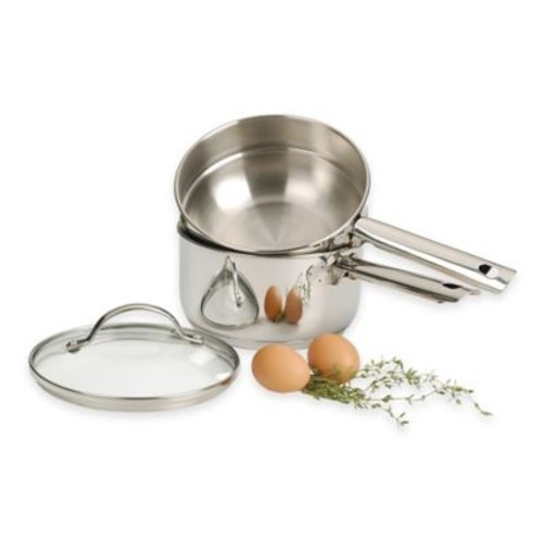 RSVP Stainless Steel 2 qt. Double Boiler