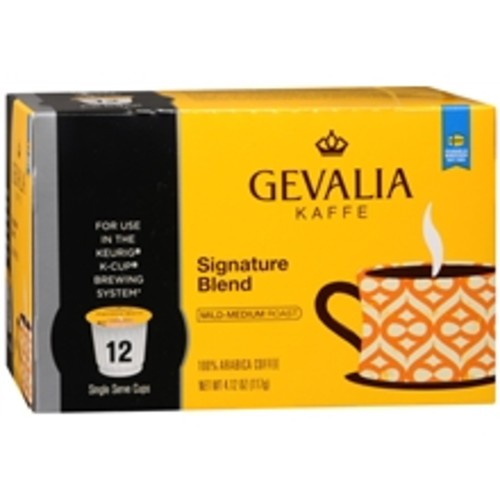 Gevalia 100% Arabica Coffee K-Cups Signature Blend