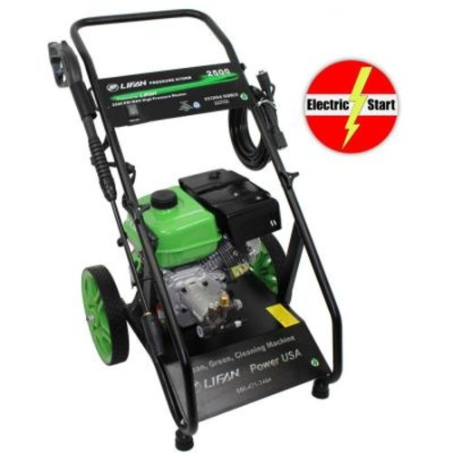 LIFAN Pressure Storm Series 2,500 psi 2.0 GPM AR Axial Cam Pump Electric Start Gas Pressure Washer