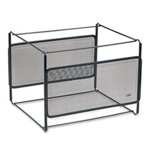Eldon Office Products Letter Size Mesh File Frame Holder, Wire, 12 3/8 x 11 3/8 x 9 5/8, Black (AZERTY21274)