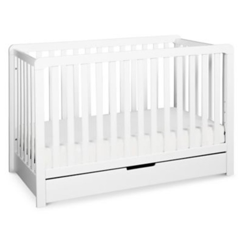 carter's by DaVinci Colby 4-in-1 Crib with Drawer in White