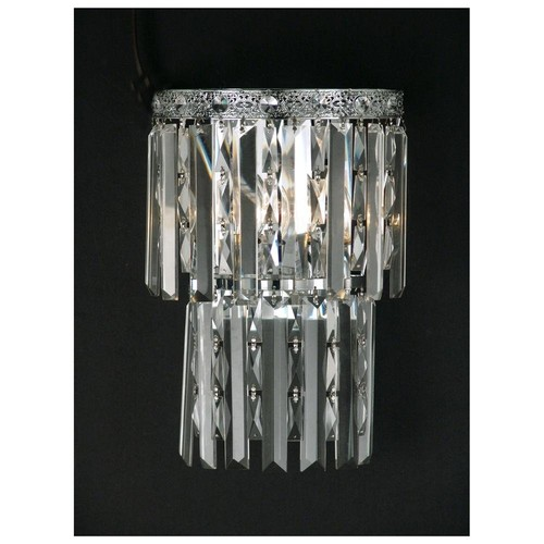 Dale Tiffany GW10733 2 Light Wall Sconces - Polished Chrome