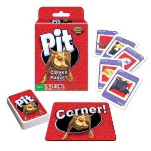 Pit Card Game - Corner The Market Game - Winning Moves Classic Trading Game [1-Pack]