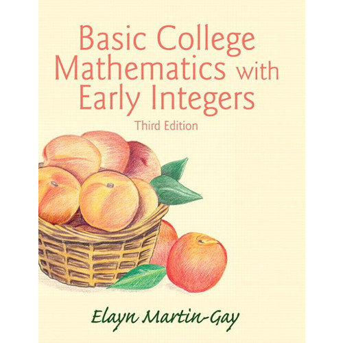 Basic College Mathematics with Early Integers / Edition 3