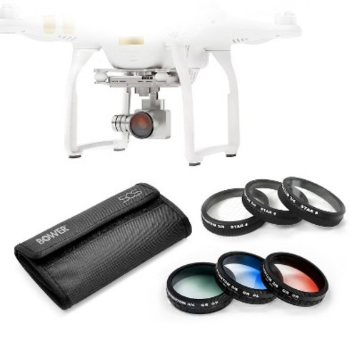 Bower Sky Capture Series 8-Piece Special Effects Filter Kit for DJI Phantom - Multicolor (SCS-FK8SEPH)