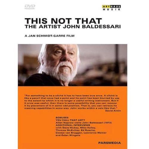 This Not That: The Artist John Baldessari [DVD] [2006]