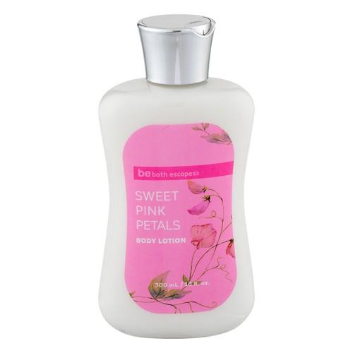 be bath escapes Sweet Pink Petals Body Lotion 10 fl oz.