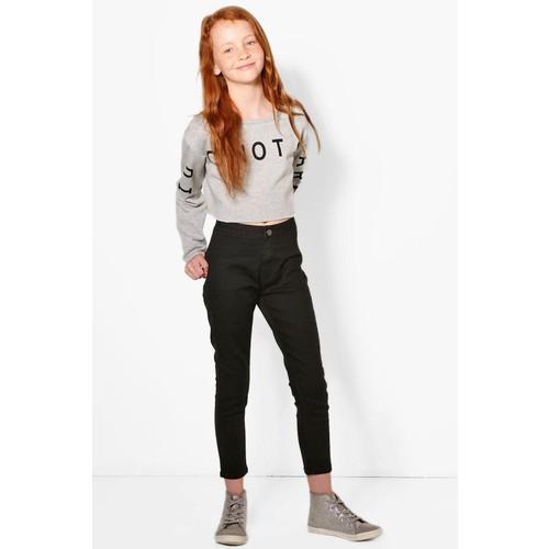 Girls High Rise Tube Jeans
