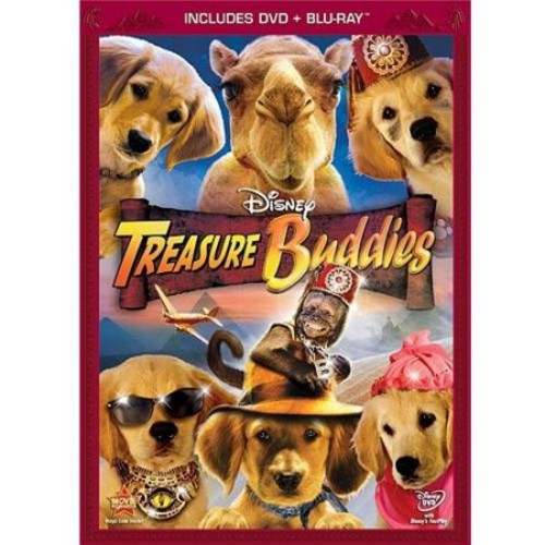 Treasure Buddies (DVD + Blu-ray)