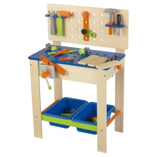 KidKraft Deluxe Workbench with Tools Set
