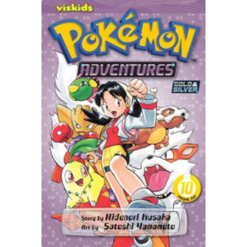 Pokemon Adventures, Volume 10
