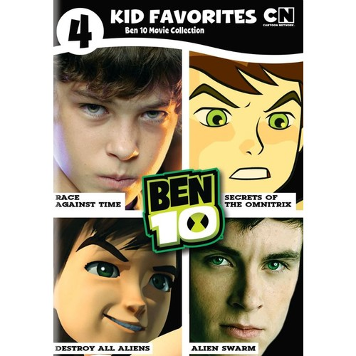 4 Kid Favorites: Ben 10 Movie Collection [4 Discs] [DVD]