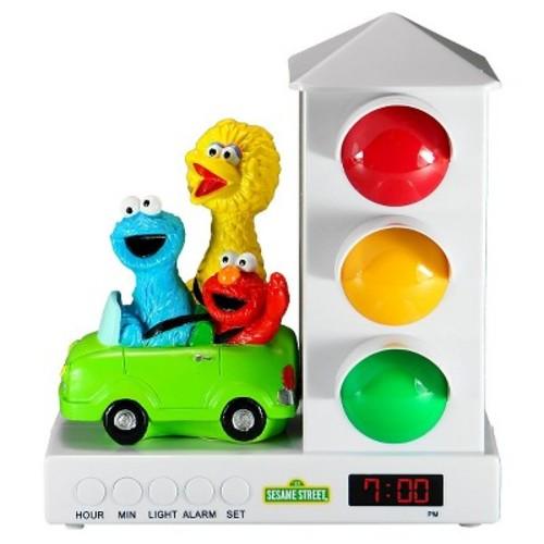 Sesame Street Elmo and Friends in Car Stoplight Sleep Enhancing Alarm Clock