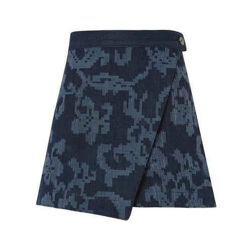RAG & BONE Marina Denim Skirt