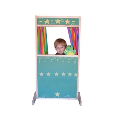 Beka 05001 Storefront Puppet Theater chalkboard surface