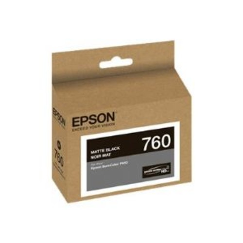 Epson 760 - Matte black - original - ink cartridge - for SureColor P600, SC-P600 (T760820)