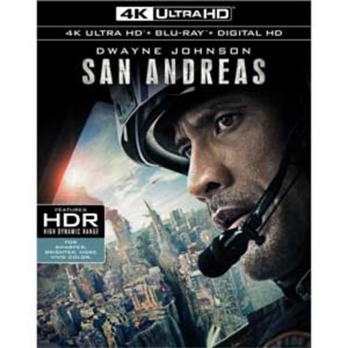 San Andreas [4K UHD] [Blu-Ray] [Digital HD]