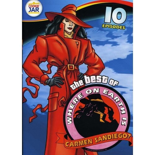 The Best of Where on Earth Is Carmen Sandiego?: 10 Episodes [DVD]