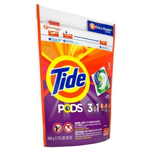 Tide Pods Laundry Detergent, Spring Meadow, 35 Count [1]