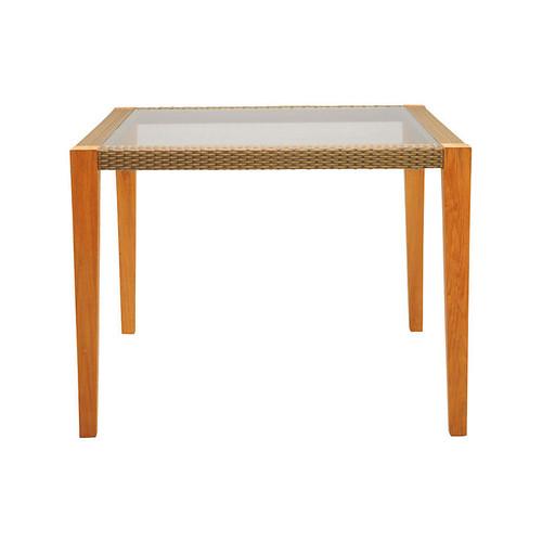 Quinta Square Dining Table, Natural/Khaki