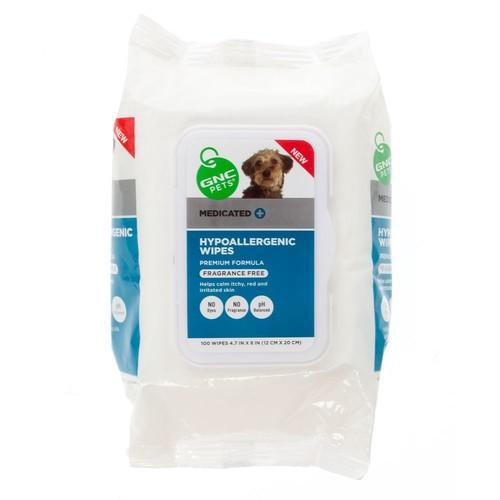 GNC Pets Hypoallergenic Grooming Pet Wipes