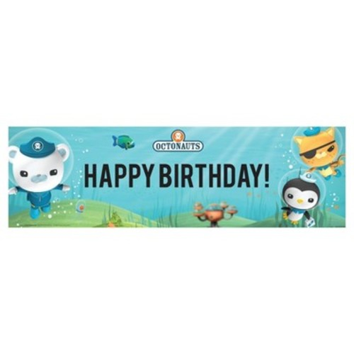 Octonauts Birthday Banner - Medium