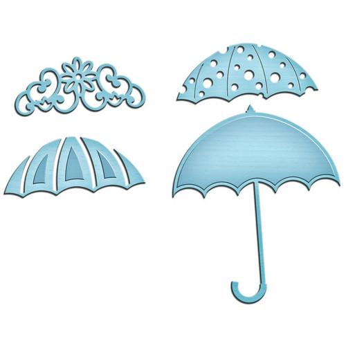 Spellbinders Shapeabilities In'spire Die-Umbrella Trio