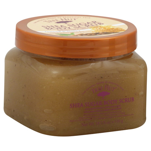Body Scrub, Shea Sugar, Almond & Honey, 18 oz (510 g)