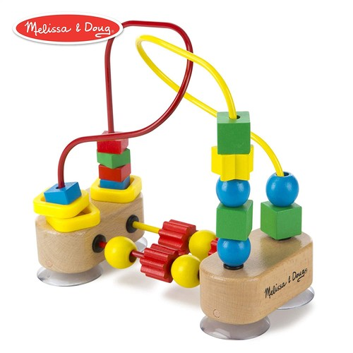 Melissa & Doug First Bead Maze - Wooden Educational Toy [Standard]