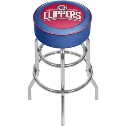 Trademark Global Los Angeles Clippers NBA Padded Swivel Bar Stool