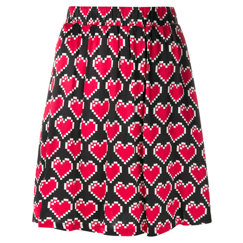 heart pixel skirt
