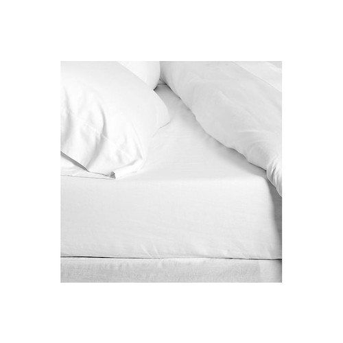 White Fitted Sheet, White